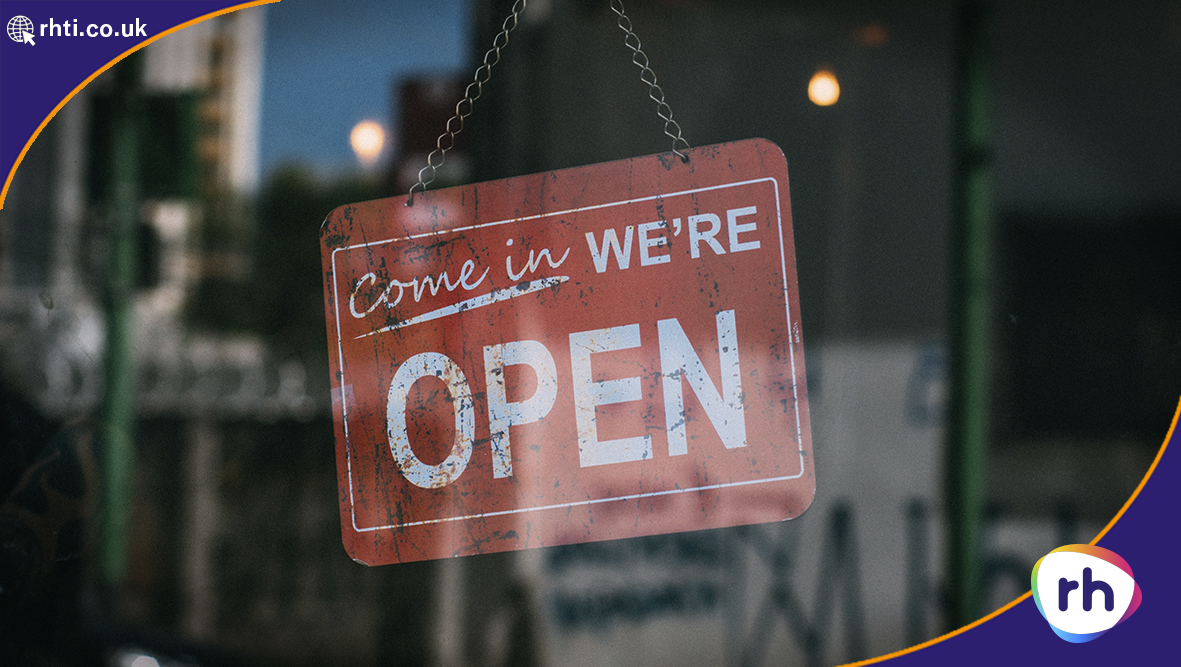 RH Blog - During Covid our Door is open to business