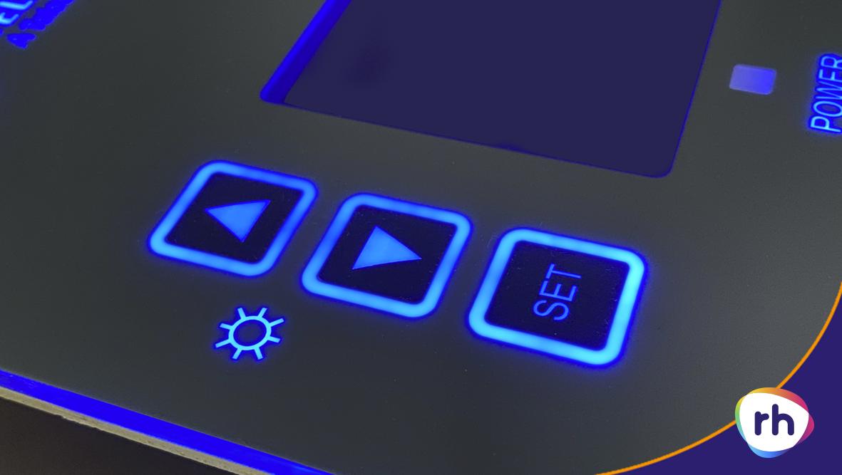 LED Backlighting - Blue Glow