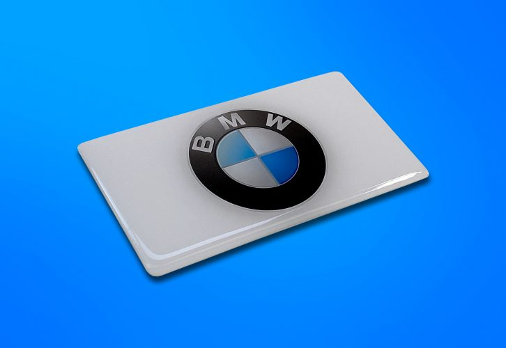 BMW - Resin Dome car decal