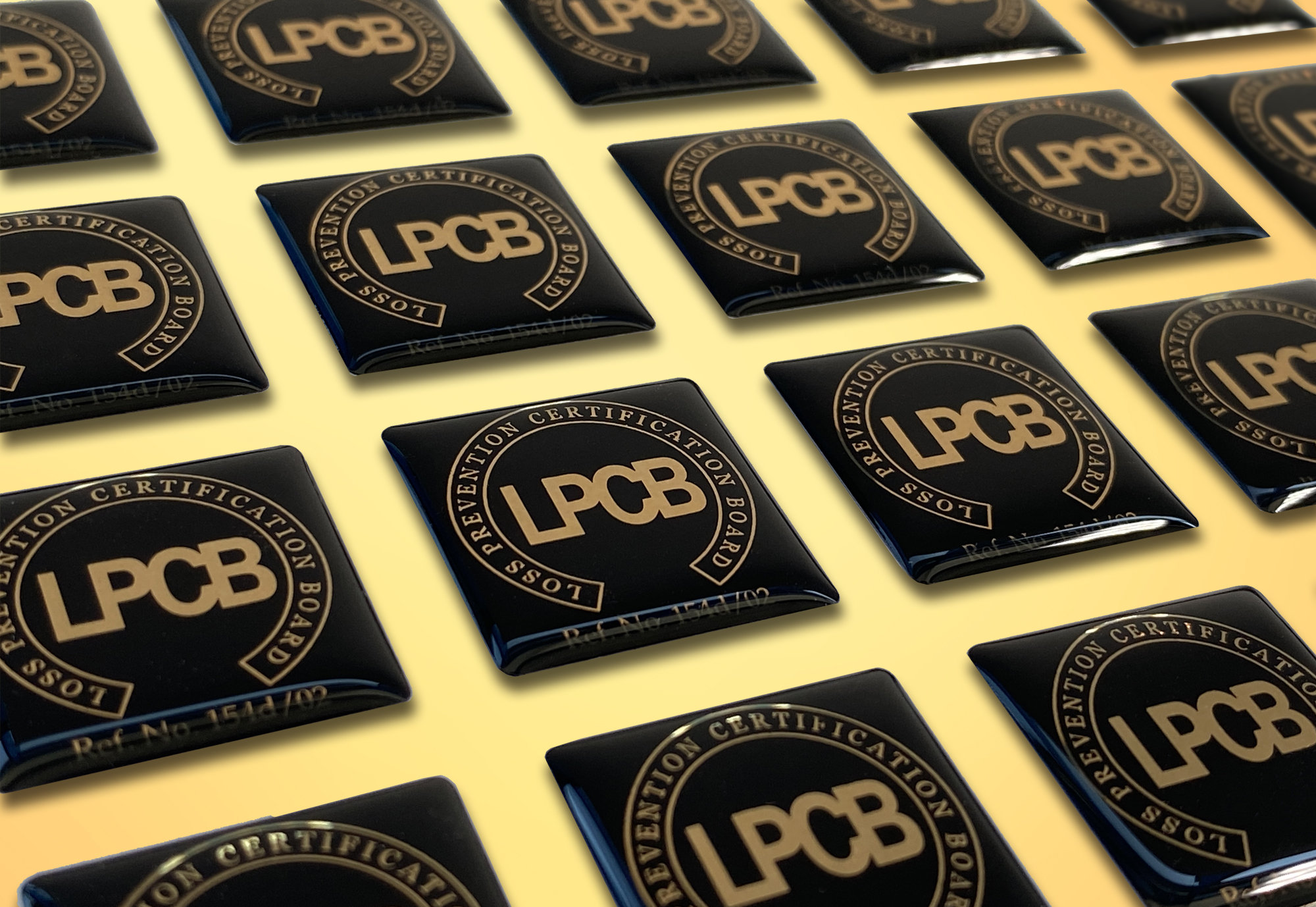 Shhet of Resin Dome stickers - LPCD