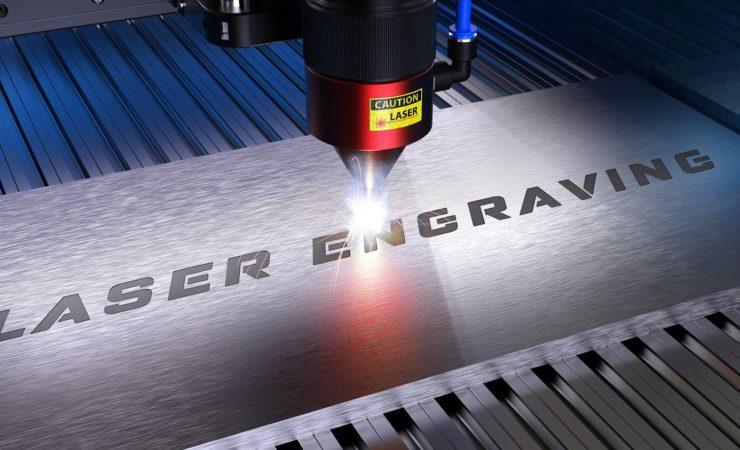 Laser Engraving of nameplates