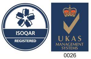 ISOQAR registered logo UKAS