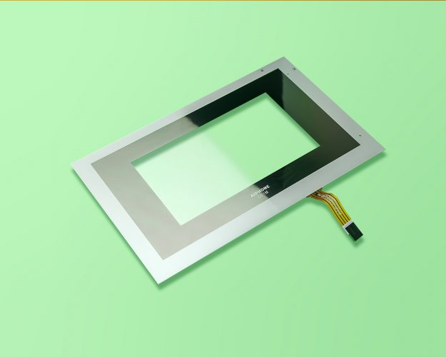 A-touchscreen-with-silver-and-black-surround