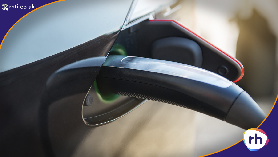 Electrical Car being charged