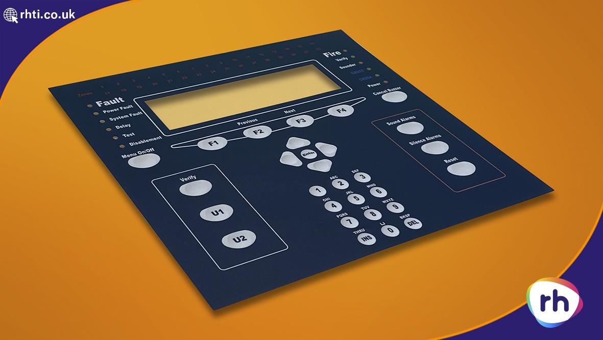 Fire Alarm system Custom Graphic Overlay